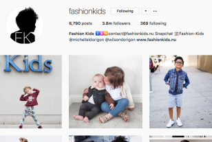 FashionKids Instagram