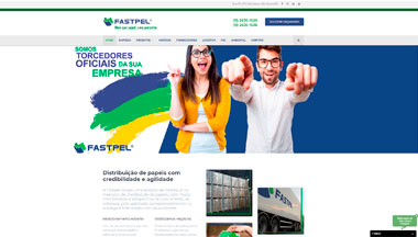 Case Site Fastpel em Wordpress