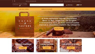Case Cacau Tasters Loja Integrada